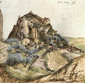 Albrecht Dürer, Veduta di Arco