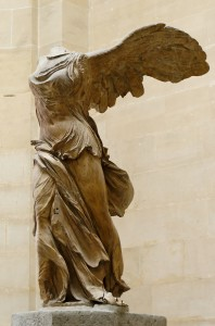 Nike of Samothrace, Louvre, Paris