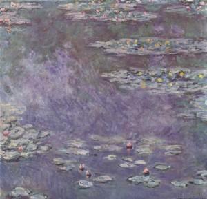 Claude Monet, Ninfee, 1908, Musée de l'Orangerie, Parigi