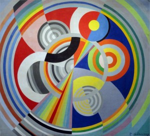 Robert Delaunay, 1938, Rhythm, oil on canvas, Musée d'Art Moderne de la Ville de Paris