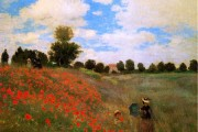 Claude Monet, The poppy field near Argenteuil, 1873, Musée d'Orsay, Paris