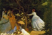 Claude Monet, Women in garden, 1867, Musée d'Orsay, Paris