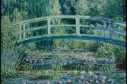 Claude Monet, The Japanese bridge, 1899, MOMA, New York