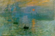 Claude Monet, Impression soleil levant, 1872, Musée Marmottan Monet, Paris