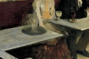 Edgar Degas, The absinthe, 1875-1876, Musée d'Orsay, Paris
