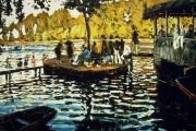 Claude Monet, La Grenouillère, 1869, Metropolitan Museum, New York