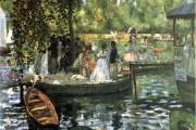 Auguste Renoir, La Grenouillere, 1869, Nationalmuseum, Stoccolma