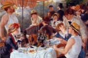 Auguste Renoir, La colazione dei canottieri, 1880-1882, Phillips Collection, Washington