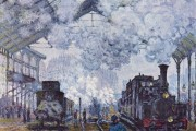 Claude Monet, The station St-Lazare, 1877, Musée d'Orsay, Paris