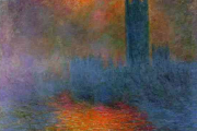 Claude Monet, London. The Parliament,1904, Musée d'Orsay, Paris