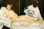 Edouard Manet, Olympia, 1863, Musée d'Orsay, Parigi