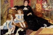 Auguste Renoir, Ritratto di Madame Charpentier, 1876-1877, Musée d'Orsay, Parigi