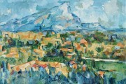 Paul Cézanne, Mont Sainte Victoire, 1905, Philadelphia Museum of Art, Philadelphia
