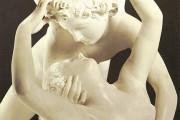 Antonio Canova, Amore e Psiche che si abbracciano (particolare), 1787-1793, Louvre, Parigi