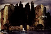 Arnold Böcklin, Island of the Dead (fifth version), 1886, Museum der Bildendenkunste, Lipsia