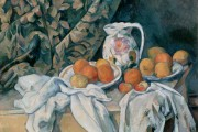 Paul Cézanne, Still Life with Apples and Peaches, 1905, National Gallery of Art, Washington DC