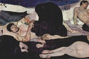 Ferdinand Hodler, The Night, 1890, Kunstmuseum, Bern