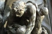 Auguste Rodin, La porta dell'inferno, il Conte Ugolino (dettaglio), 1880-1917, Musée Rodin, Parigi