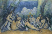 Paul Cézanne, The Large Bathers, 1900-1905, The Trustees of the National Gallery, London