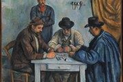 Paul Cézanne, The Card Players, 1890-1892, Metropolitan Museum of Art, New York