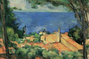 Paul Cézanne, Estaque with red roofs, 1885, private collection