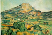 Paul Cézanne, Mont Sainte-Victoire seen from Bellevue, 1885, Pennsylvania Barnes Foundation