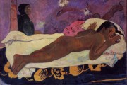 Paul Gauguin, Manao Tupapau (Spirit of the Dead Watching), 1892, Albright-Knox Art Gallery, Buffalo