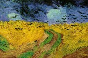 Van Gogh, Wheatfield with Crows, 1890, Van Gogh Museum, Amsterdam