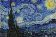 Van Gogh, The Starry Night, 1889, MOMA, New York