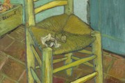 Van Gogh, Van Gogh's Chair, 1888, National Gallery, London