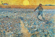 Van Gogh, Sower at Sunset, 1888, Kröller Müller Museum, Otterlo