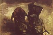 Van Gogh, Un paio di scarpe, 1886, Van Gogh Museum, Amsterdam