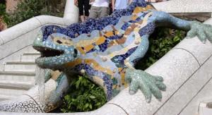 Antoni Gaudi - Parc Güell - Drago Pitone