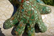 Antoni Gaudi - Parc Güell - Drago Pitone(Dettaglio)
