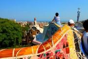 Antoni Gaudi - Parc Güell - Mosaico Panchina