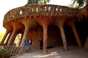 Antoni Gaudi - Parc Güell - Viadotti pedonali