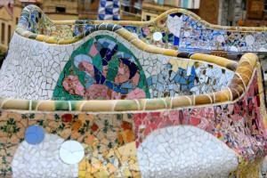 Antonio Gaudí - Parc Güell - panchine