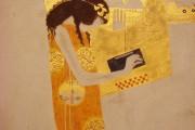 Gustav Klimt - Fregio di Beethoven - La poesia (particolare) - 1902 - Palazzo della Secessione - Vienna