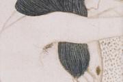 Gustav Klimt - Fregio di Beethoven - Umanità sofferente (dettaglio) - 1902 - Palazzo della Secessione - Vienna