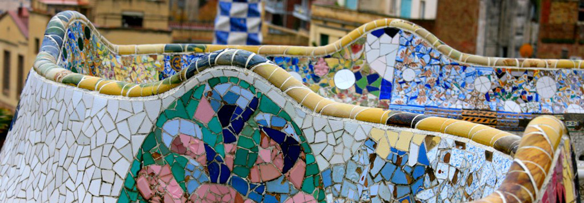 I video di ARt blobs – Parc Güell – Antoni Gaudí