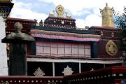 Monastero di Jokhang, decorazioni tetto - Lhasa - Tibet