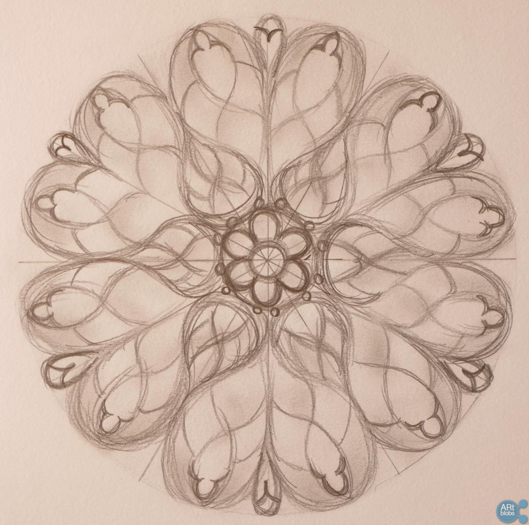 How To Draw A Stained Glass Window