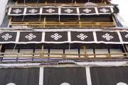 Potala, Dettaglio decorazioni - Lhasa - Tibet