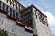 Potala, mura esterne - Lhasa - Tibet