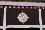 Potala, elemento decorativo - Lhasa - Tibet