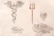 Vittorio - simboli mitologici