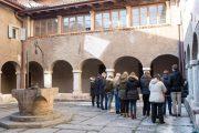 Convento di San. Bernardino, Trento, dettaglio chiostri