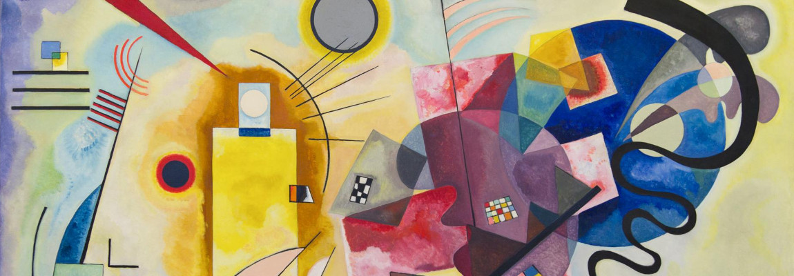 ARt blobs videos – Yellow, red, blue – Wassily Kandinsky