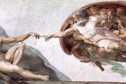 Creazione di Adamo - 1510-1511 - Affresco - Cappella Sistina in Vaticano - Roma
