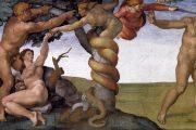 Peccato originale - 1509-1510 - Affresco - Cappella Sistina in Vaticano - Roma